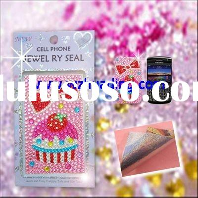 Rhinestone sticker for cell phone case (WD-ASF803)