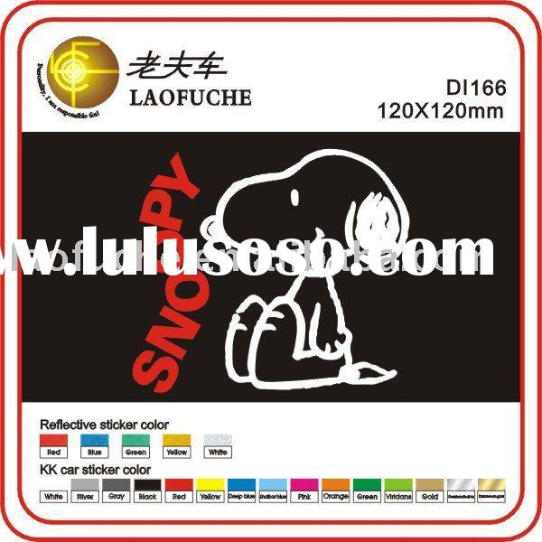 SNOOPY car stickers car sticker design