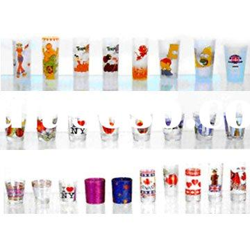 Shotglass with Decal