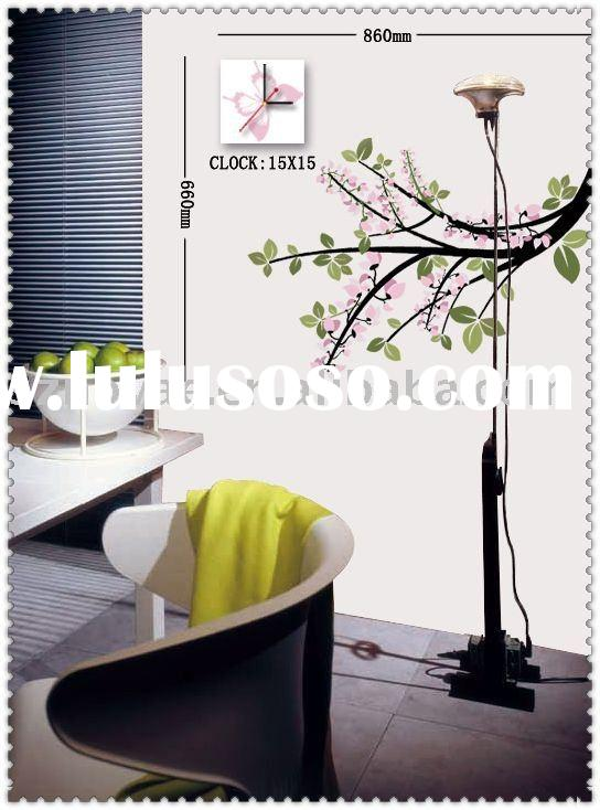 Vinyl Wall Sticker Clock Removable Wall Sticker Sticker Clock