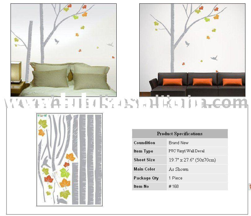 Wall Paper Decals Mural Vinyl Decor Stickers Tree