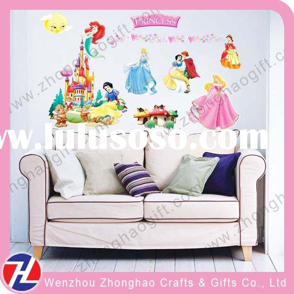 cartoon 3d wall decoration for home decor for kids