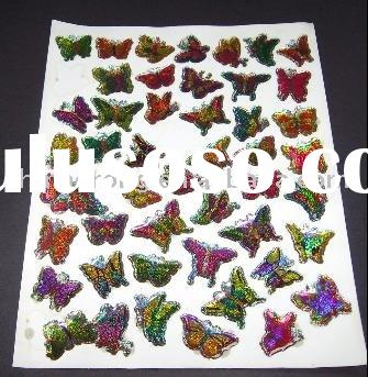 custom stickers butterfly stickers