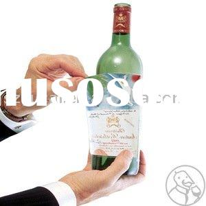 customized  high quality wine  bottle label