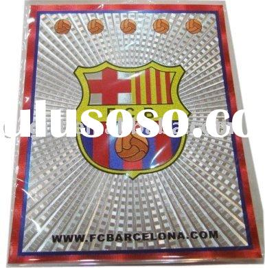 football fans laser big stickers/soccer stickers/world cup stickers/football souvenirs/promotion gif
