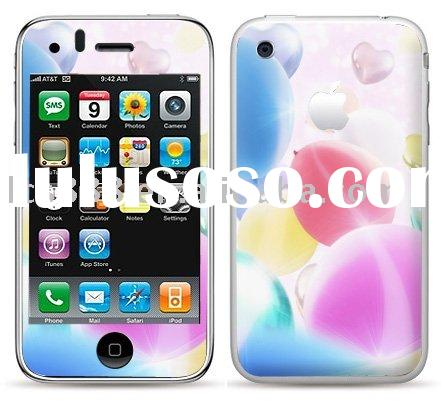 for iphone 3G skin sticker