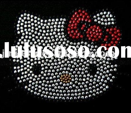hello kitty hot fix / iron-on rhinestone motif