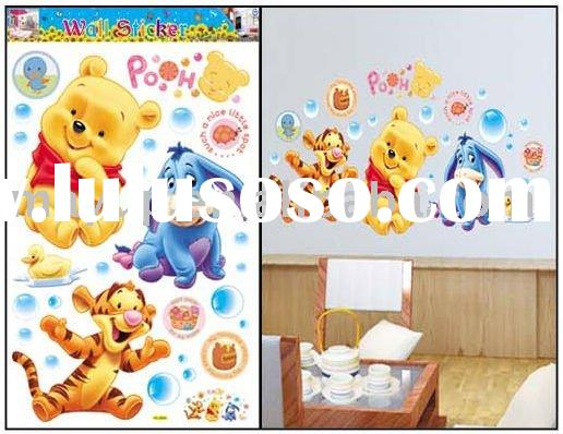 kids bedroom wall sticker- winnie Pooh