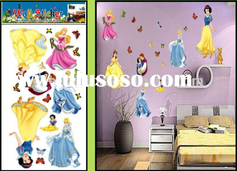 kids room removable cartoon  wall sticker
