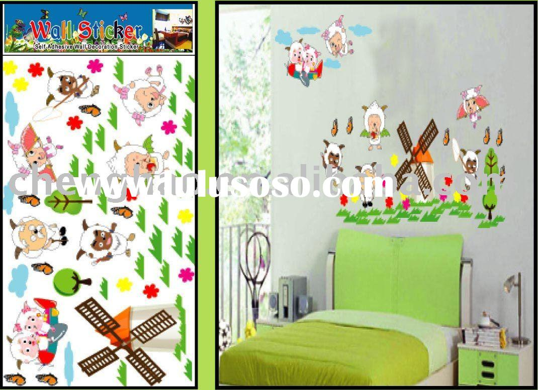 kids room removable decorative  wall sticker
