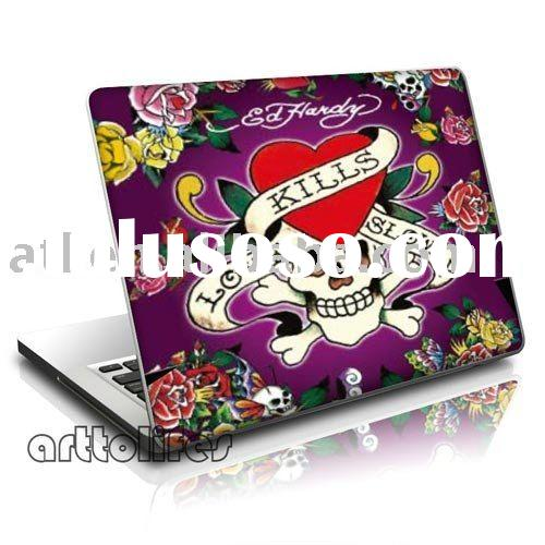 laptop skin stickers with vinyl material