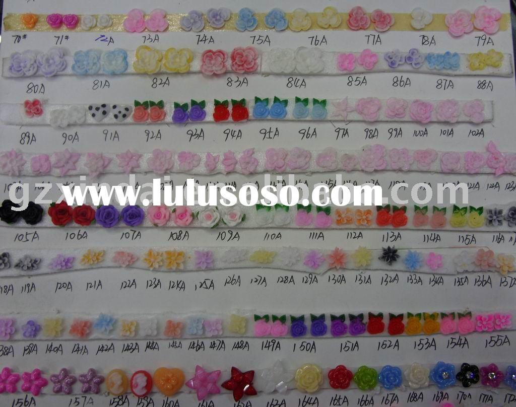nail art 3d nail sticker acrylic nail sticker