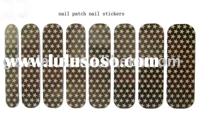 nail patch ,nail stickers ,nail foils