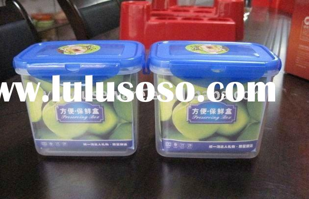 plastic preservation box/food container
