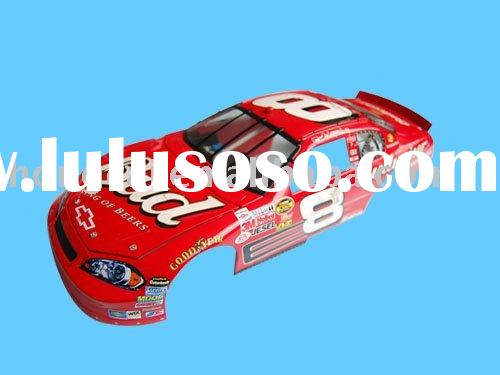 racing car model decal
