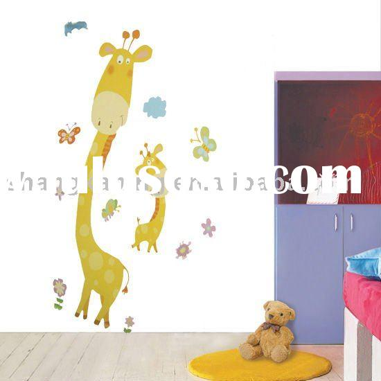 reusable Vinyl wall stickers
