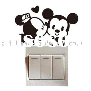 small cartoon wall stickers/decals