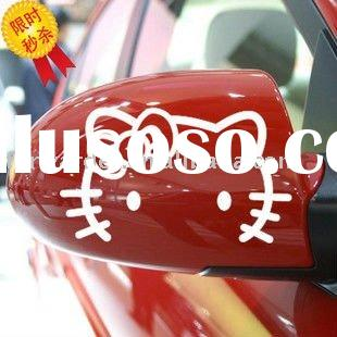 wholesale paypal Hello Kitty lovely reflective Car stickers