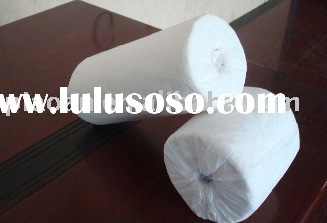 100% cotton spunlace nonwoven fabric roll for wet wipe