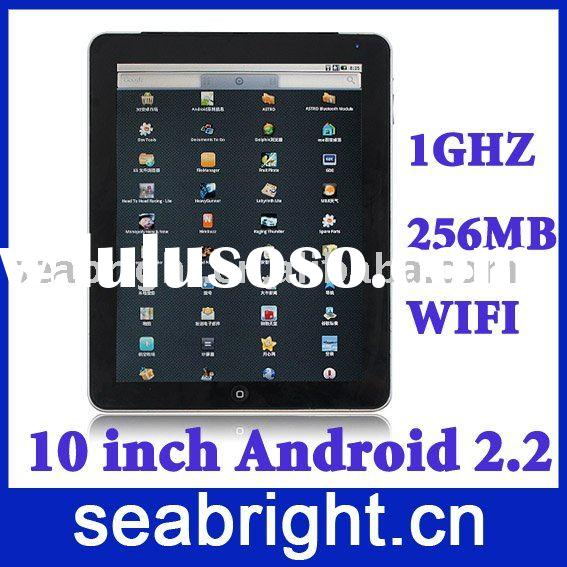 10 inch android pad with capacitive touchscreen