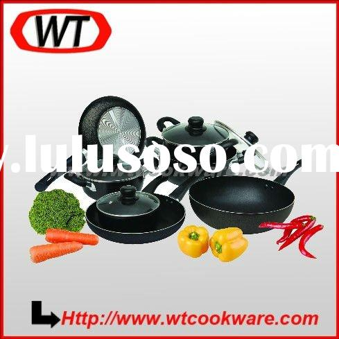 11pcs aluminum nonstick cookware set