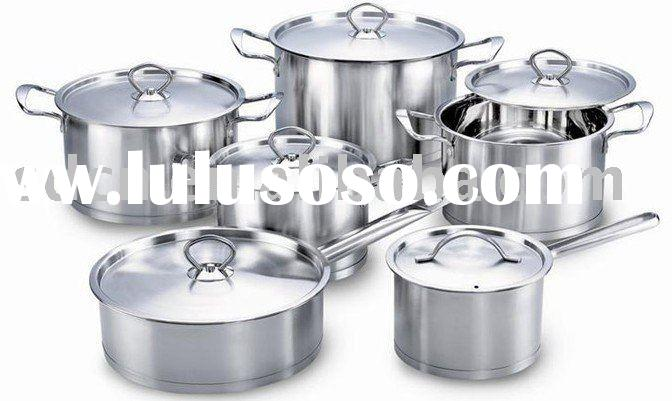 12 Pieces Stainless Steel Kitchenware Set