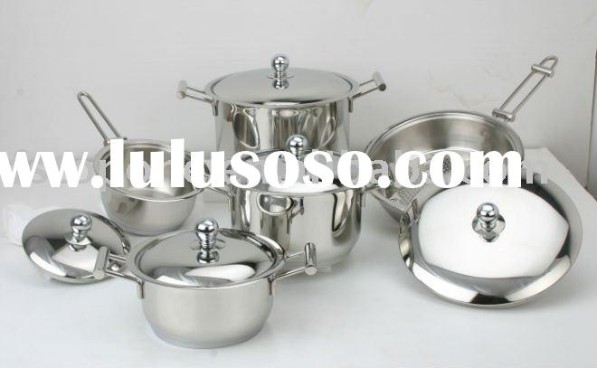14pcs cookware set stainless steel