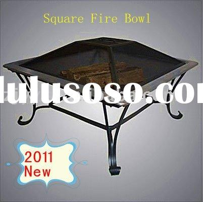 2011 New Steel Square Fire Bowl