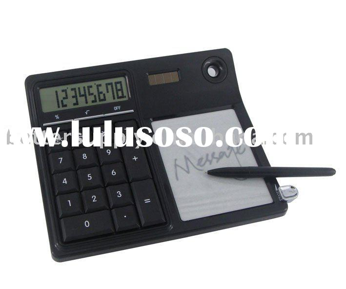 8 digital calculator with memo pad BS-C1018