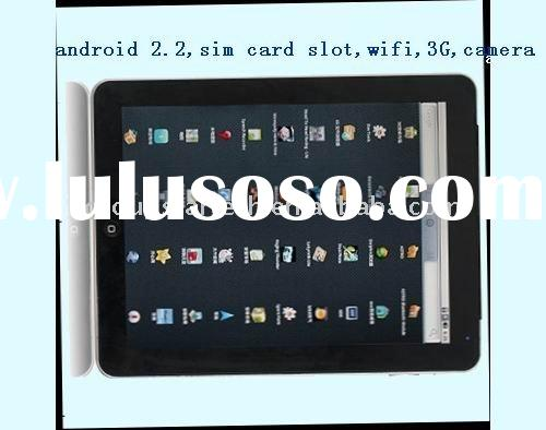 9.7'' capacitive touchscreen google pad tablet pc support 3G card  bluetooth
