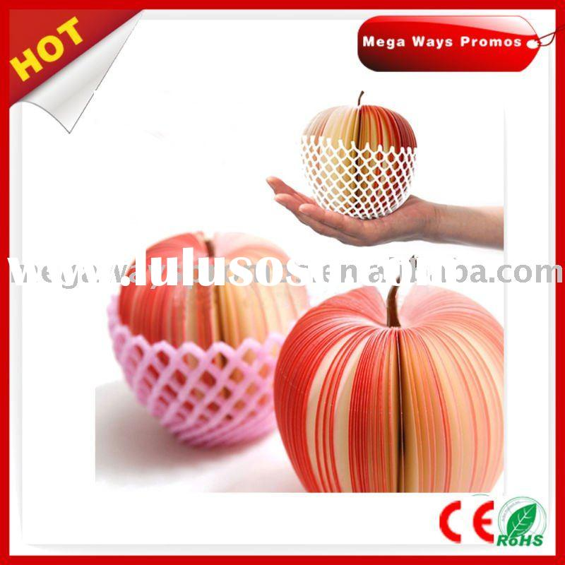 Apple Shaped Stickey Memo Pad