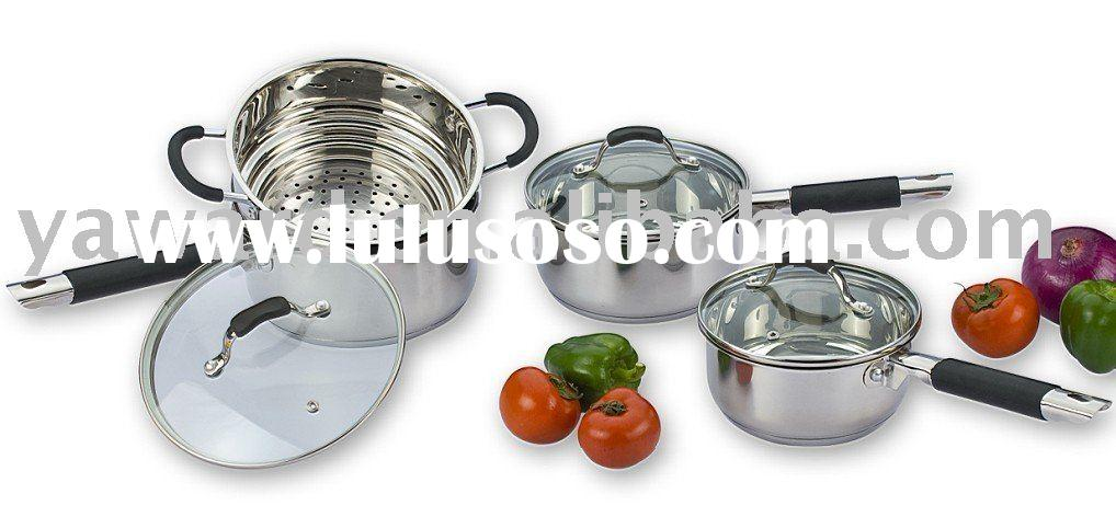 Cookware Set 6 Pc with Steamer YWDD-010SS