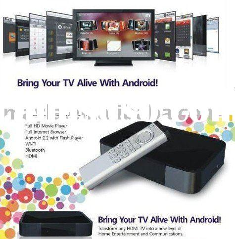 Core tex A8  Android 2.2 internet TV Box IPTV Top box 1080p