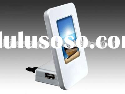 KT-HU204 With Built-In Photo Frame Usb Hub Promotional hub