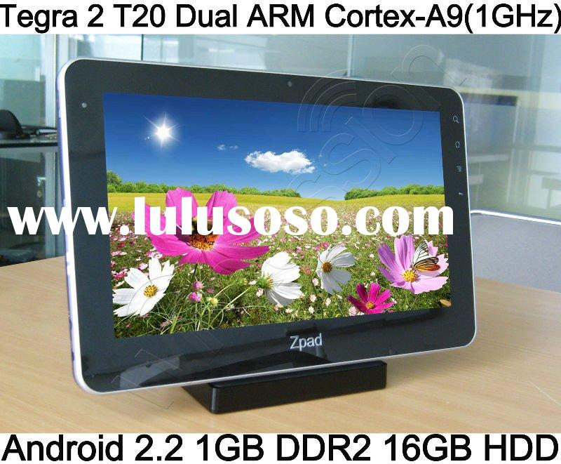 Malata T2 Capacitive screen MID W1670 3G tablet PC Android 2.2 ZPAD NVIDIA Tegra 2 T20 support flash