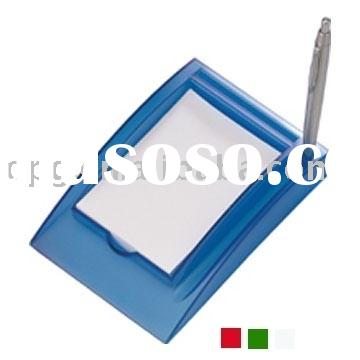 Memo, card & Pen Holder as advertising items P21611