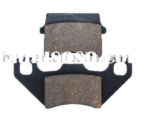 Motorcycle brake , disc brake pad