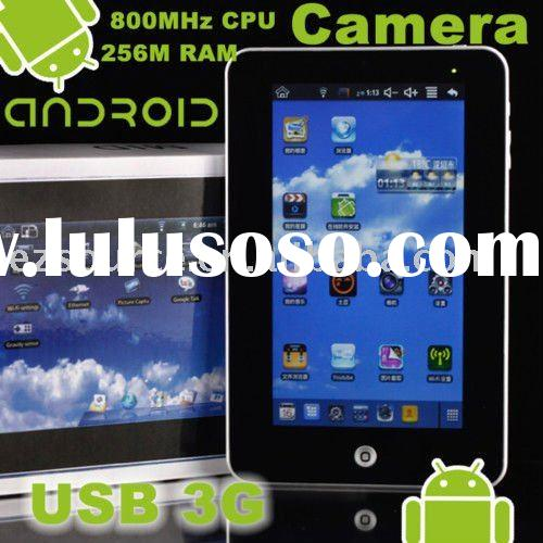 "Pad 7"" Google Android 2.2 WiFi Tablet PC MID USB Camera"
