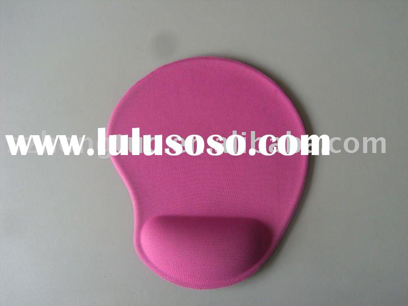 Pink gel wrist mouse pads