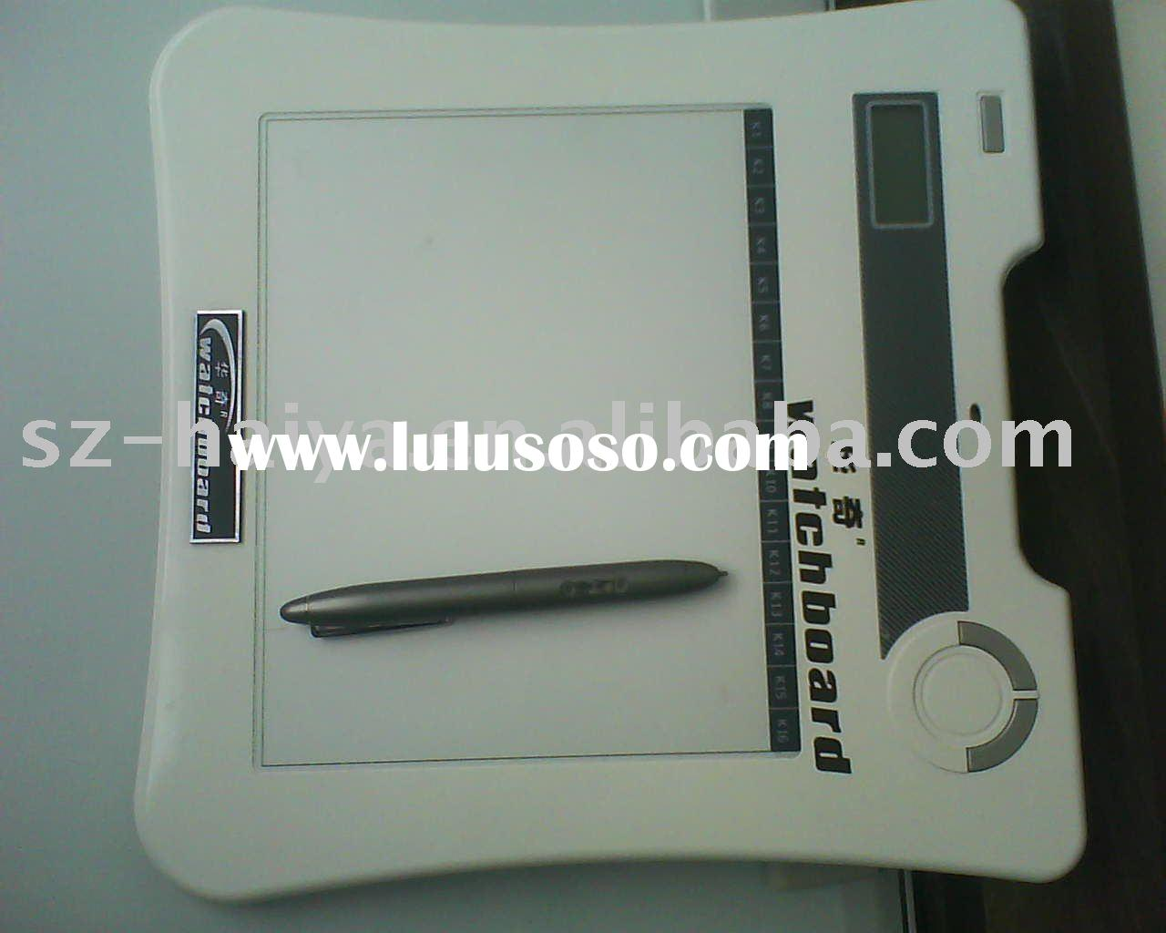 Portable board,Wireless interactive whiteboard,wireless tablet,graphics tablet