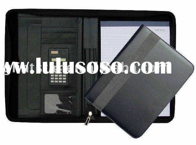 Promotional Memo Pad with Calculator and Credit Card Holder