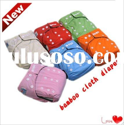 Reusable Washable and Breathable Bamboo cloth Diaper