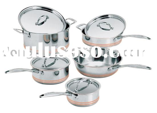 STAINLESS STEEL 5-PLY  COOKWARE SET  DJA-3588