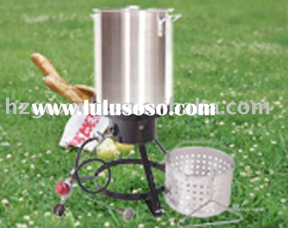 Sell 30qt aluminum turkey fryer sets,cookware