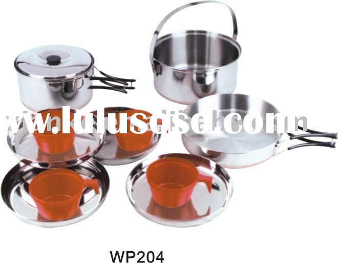 Stainless Steel 4-person Cook Set
