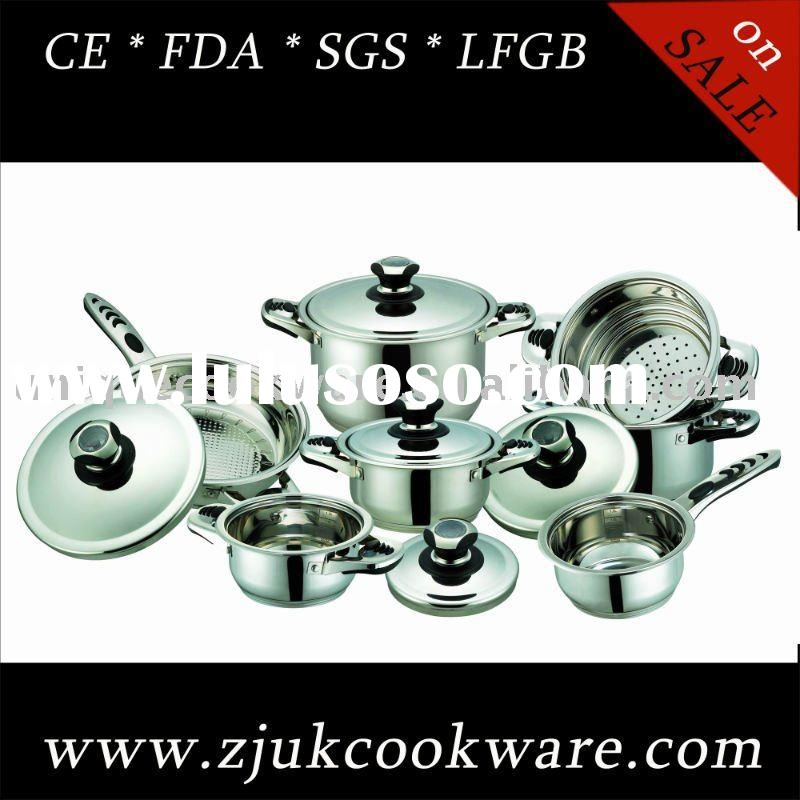 Stainless Steel Waterless Cookware Set