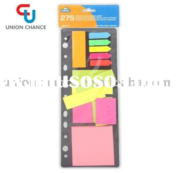 office paper self stationery stick on notes memo pad