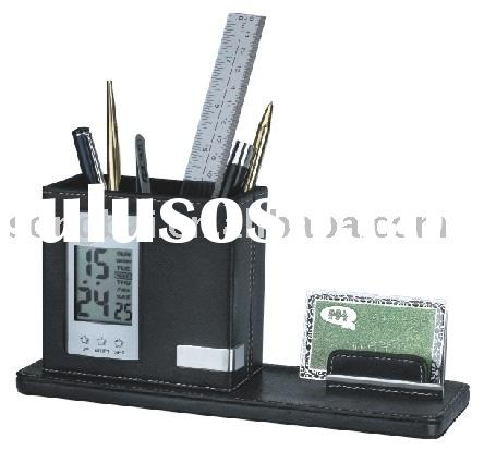 pen holder with memo pad holder