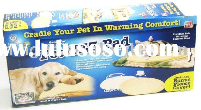 pet heated pad  /dog heating mat / dog heater bed