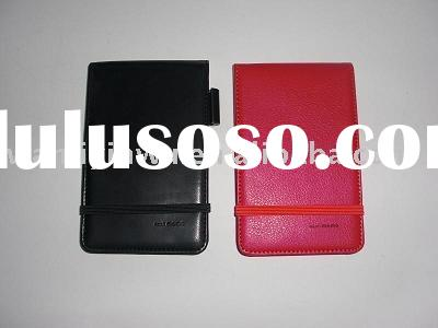 pocket note pad,PU cover notebook